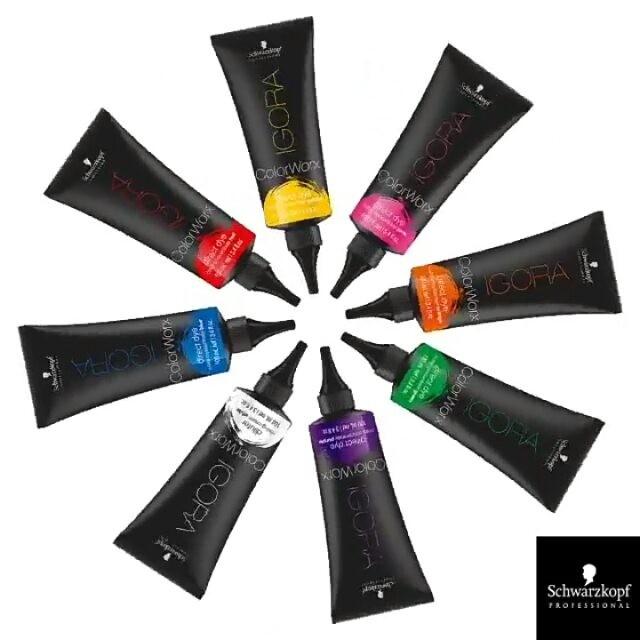Краситель прямого действия Schwarzkopf Professional Igora ColorWorx купить  в Киеве 5681e658045fa