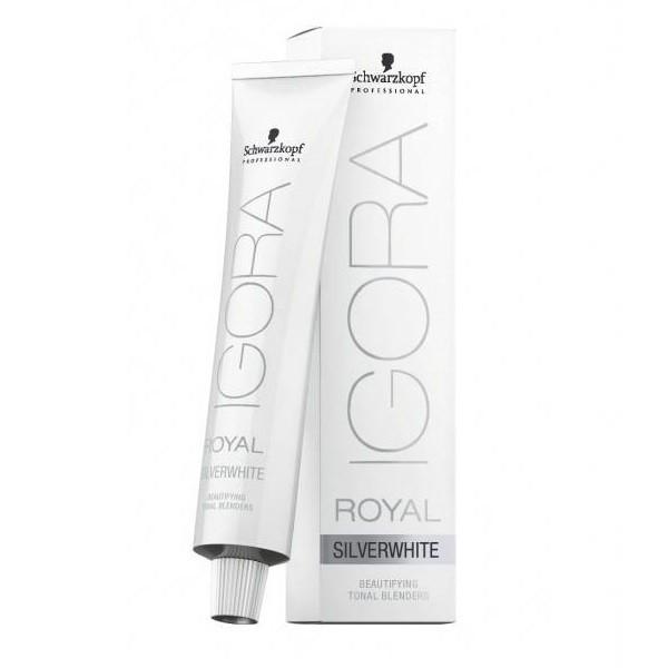 Тонирующая безаммиачная крем-краска для седых волос Schwarzkopf  Professional Igora Royal Absolutes SilverWhite e3bad62ef6b35