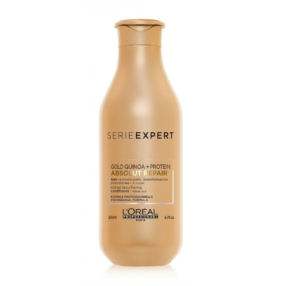 Кондиционер для поврежденных волос L'Oreal Professionnel Serie Expert Absolut Repair Gold Quinoa Protein Conditioner