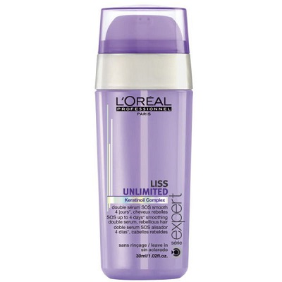 Сыворотка для непослушных волос L'Oreal Professionnel Serie Expert Liss Unlimited Double Serum